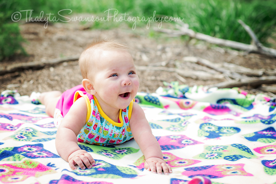 6 month old beauty - Fort Collins Photographer (4)