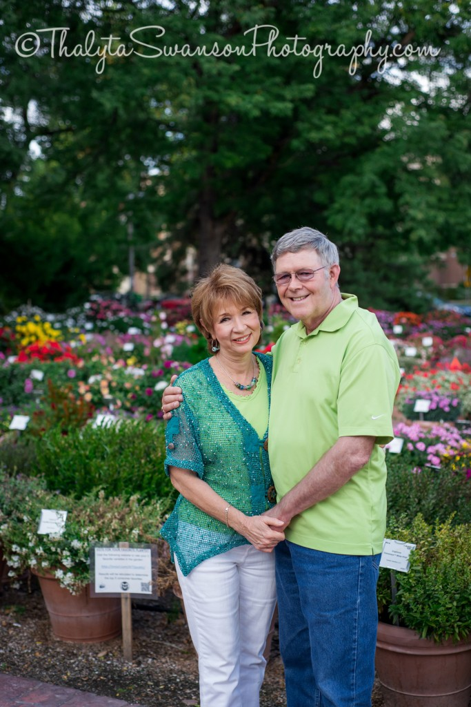 Alan and Karen - CSU Gardens (1)