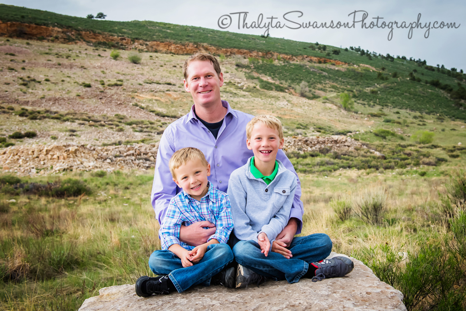Gaines Family Mini Session - Fort Collins Family Photographer