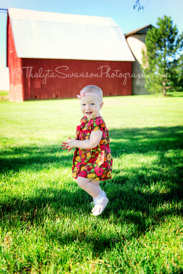 One Year Old Photo Session - Fort Collins Photographer (7)