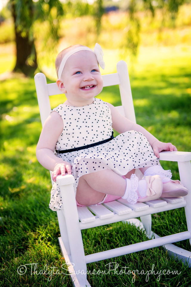 One Year Old Photo Session - Fort Collins Photographer